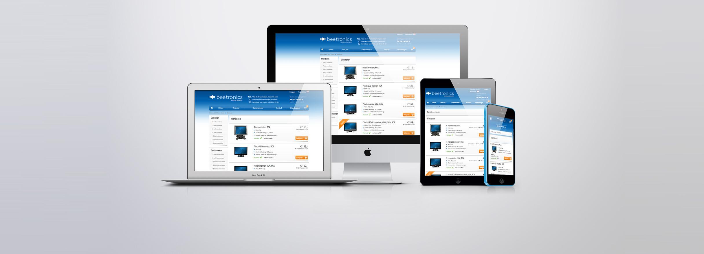 Web shop laten bouwen
