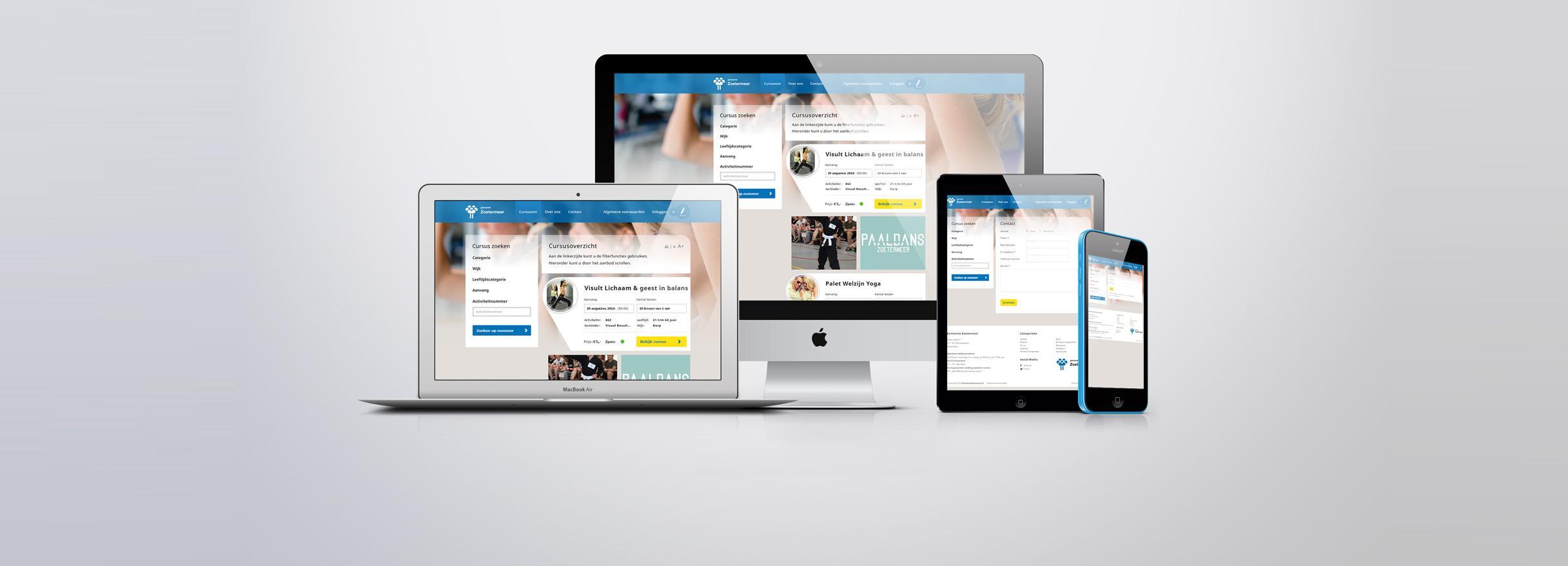 Activiteiten website