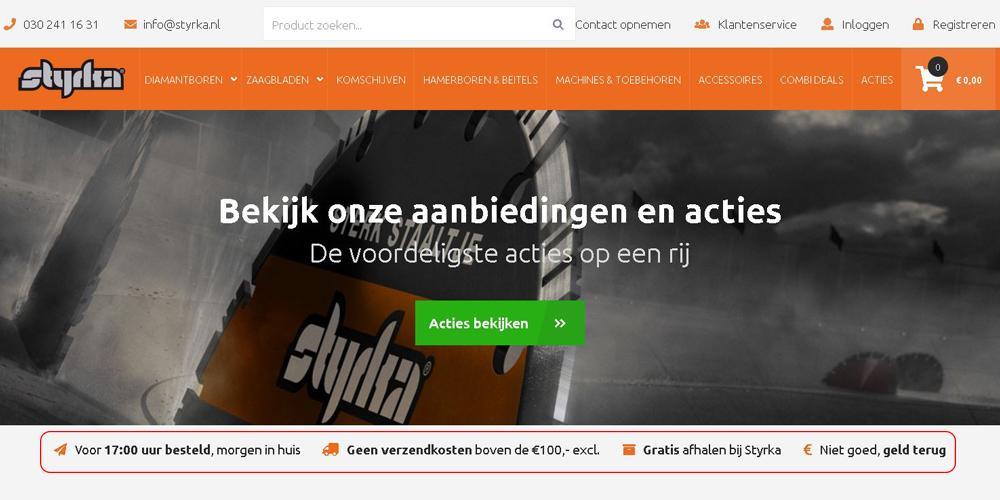 Betrouwbare USP webshop