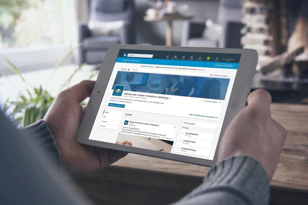 LinkedIn bedrijfspagina connecties uitnodigen