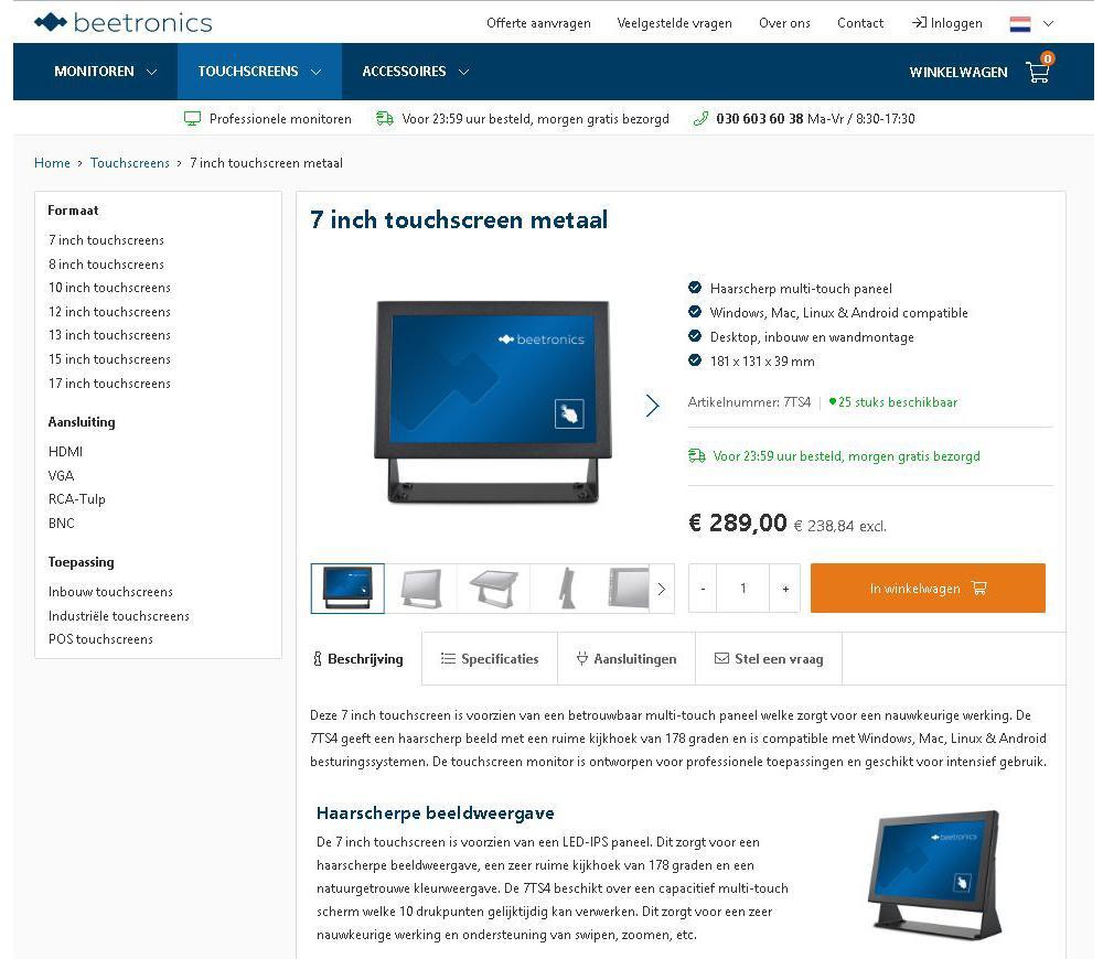webshop productteksten schrijven
