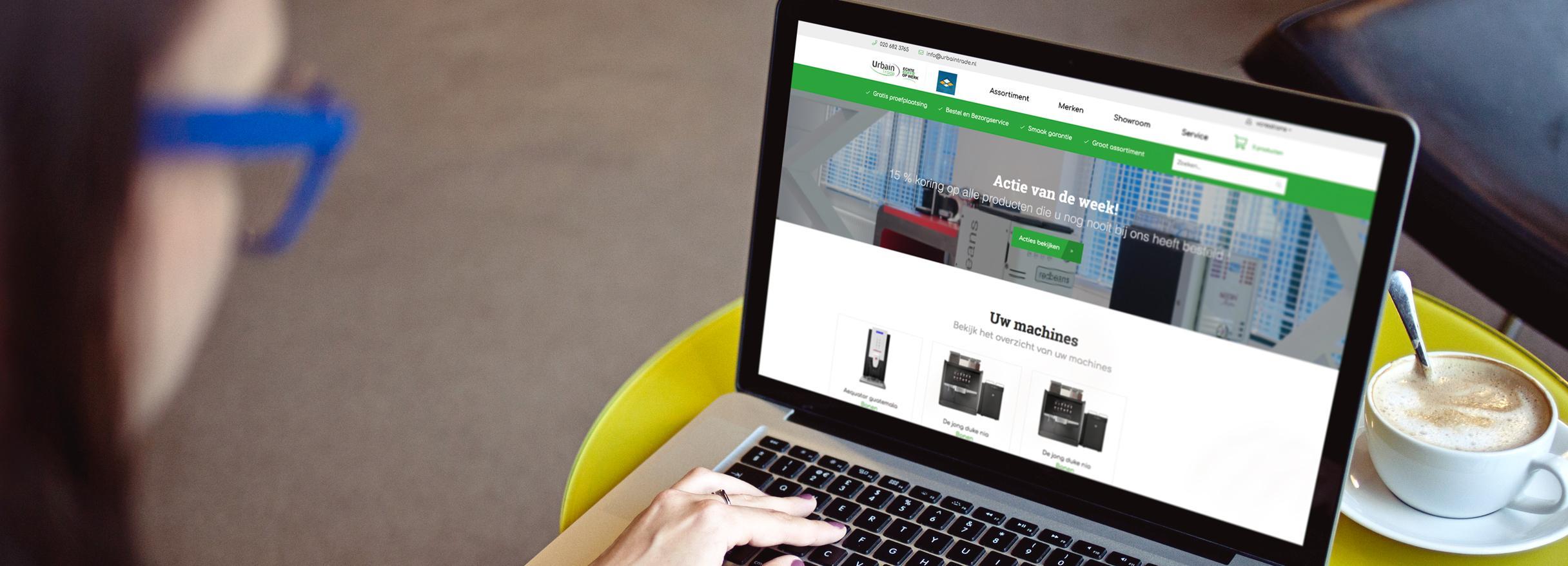 groothandel webshop laten maken