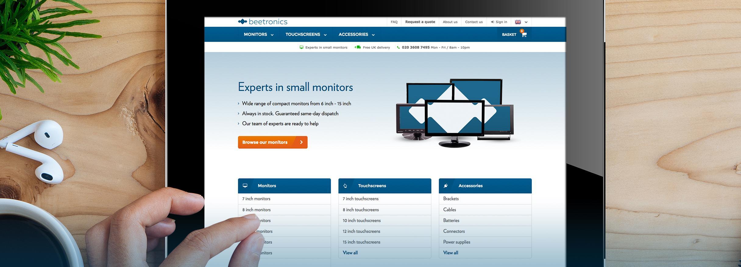 Webshop Beetronics