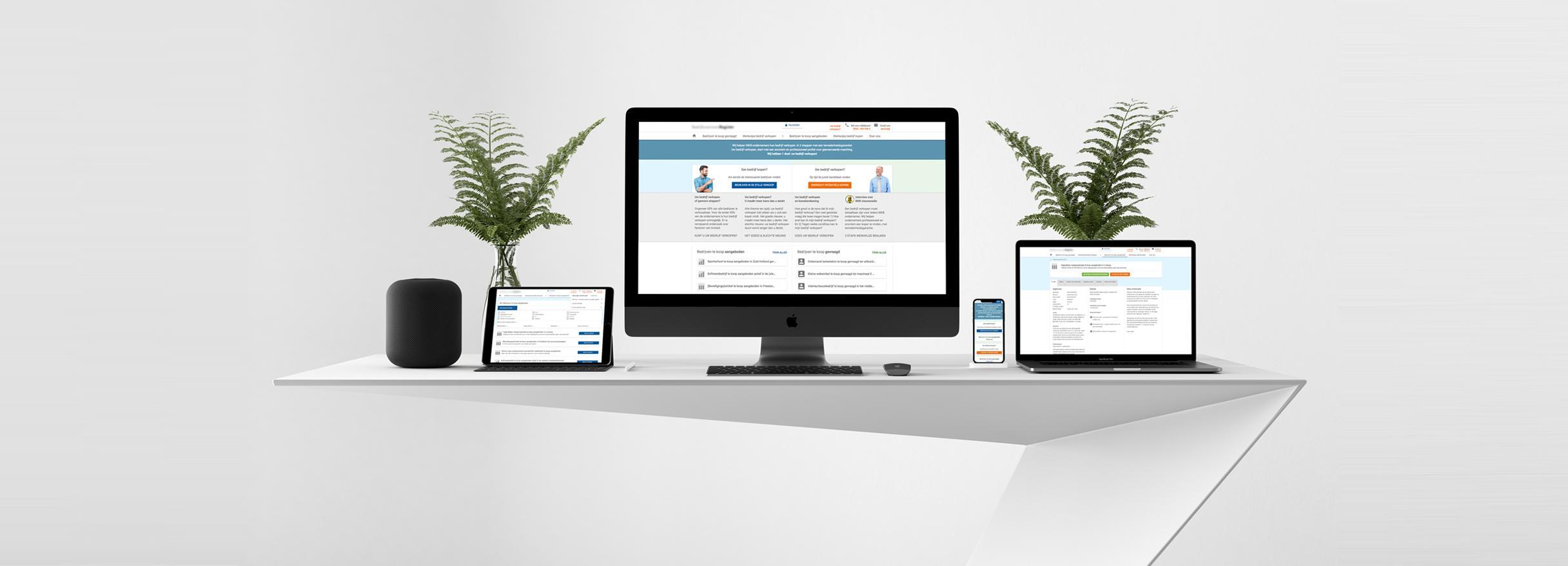Online platform opzetten