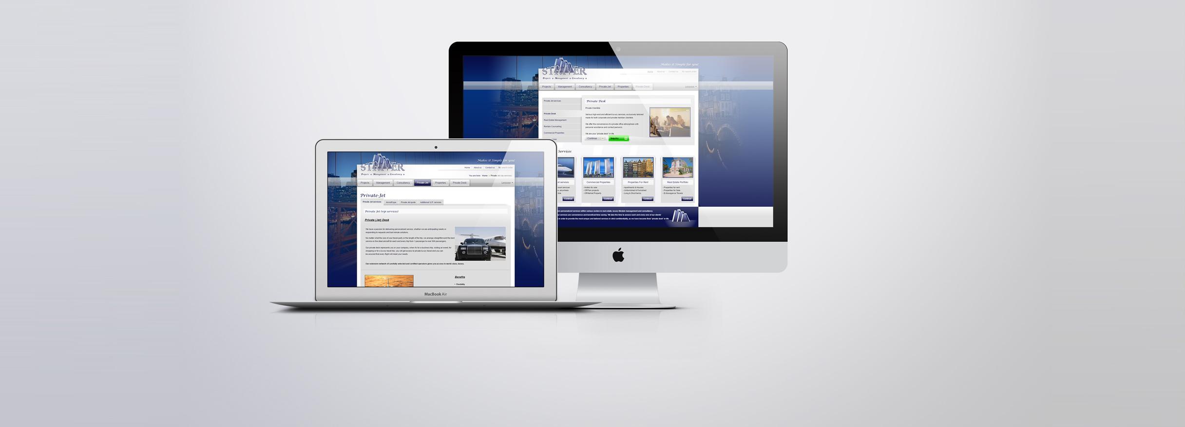 Vastgoedwebsite