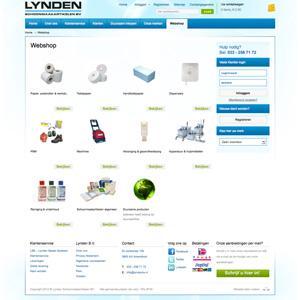 Grote webshop Lyndenbv.nl