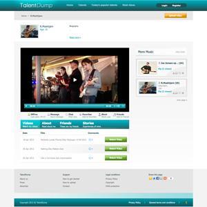Videosite Talentdump.com