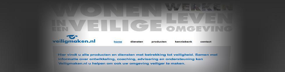 Project: Advertentiesite: Veiligmaken.nl