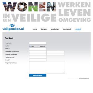 Advertentiesite: Veiligmaken.nl