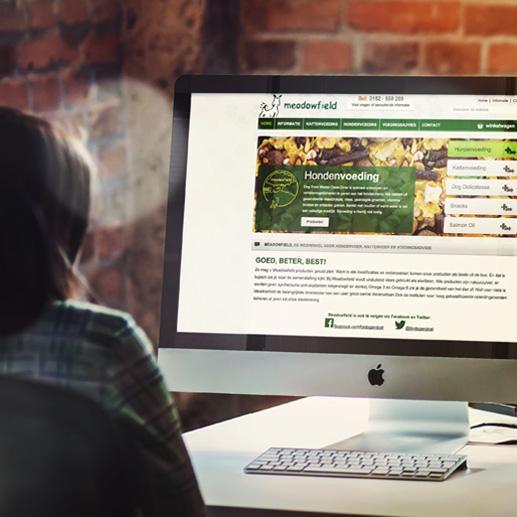 Webshop ontwikkeling Meadowfield