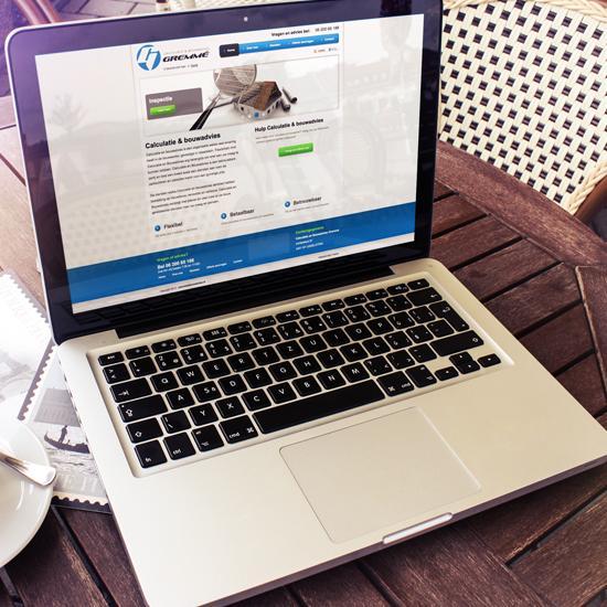 Bedrijfswebsite Gremme