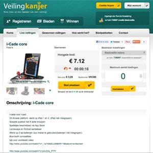Veilingsite maker: Veilingkanjer