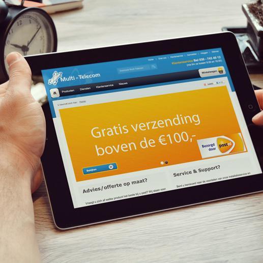 Webwinkel Multi-Telecom