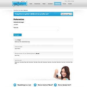 Rijschool website Rijluxe