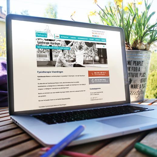Fysiotherapeut website laten maken