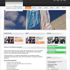Bedrijfswebsite Schadehuis