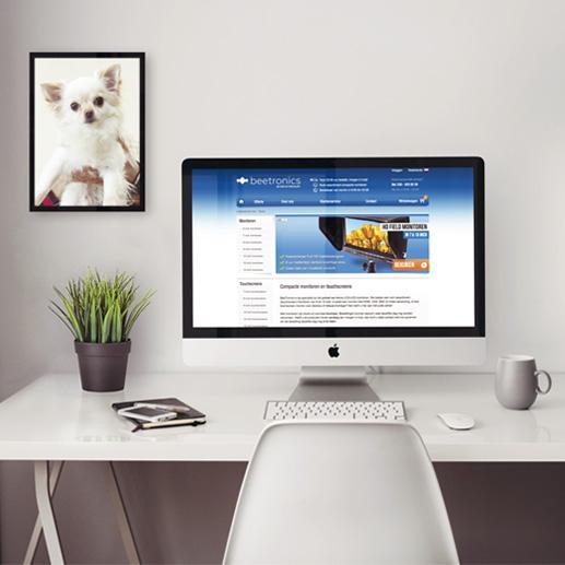 Beetronics webshop opzetten