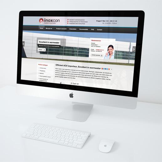 Online catalogus Inoxcon