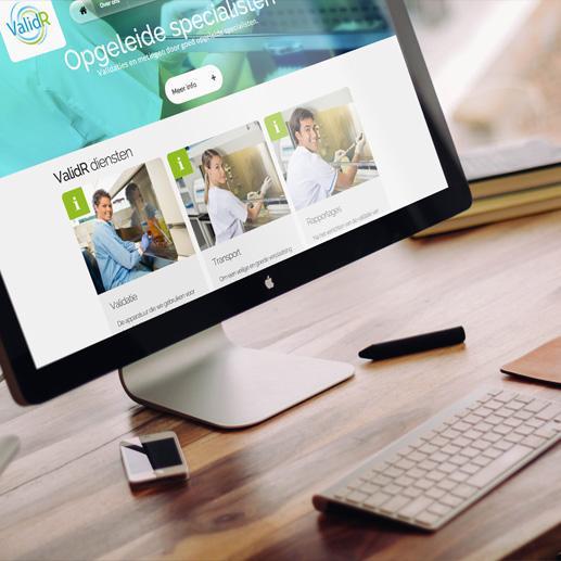 Bedrijfswebsite ValidR