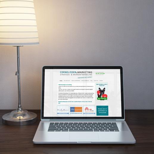 Website voor marketingbureau