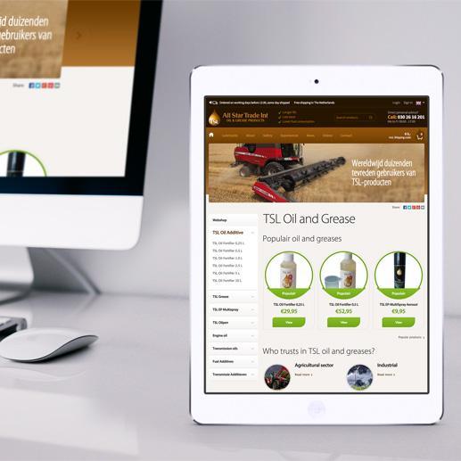 Internationale webshop