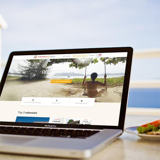 Vakantie website