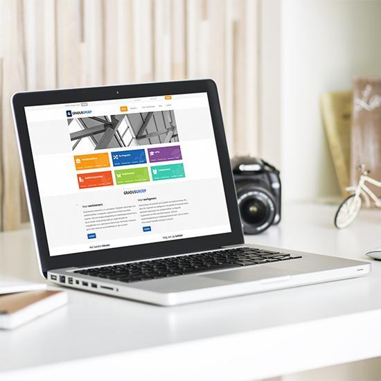 Bedrijfswebsite GradusGroep