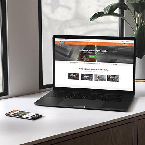 Webshop voor groothandel