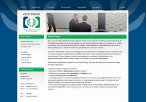 Centurioncd.nl (blauw / groen)