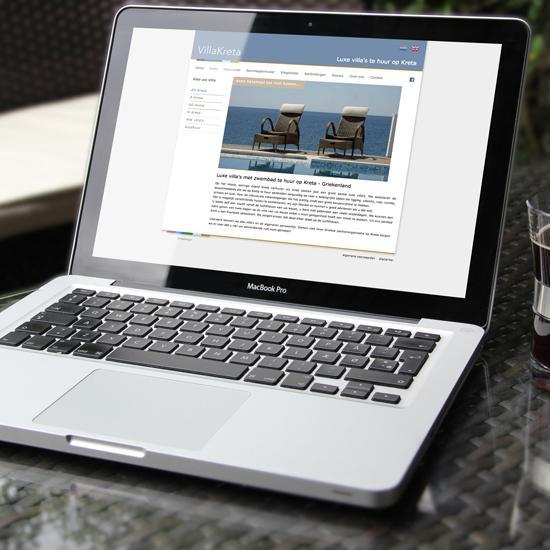 Website voor makelaar Villakreta