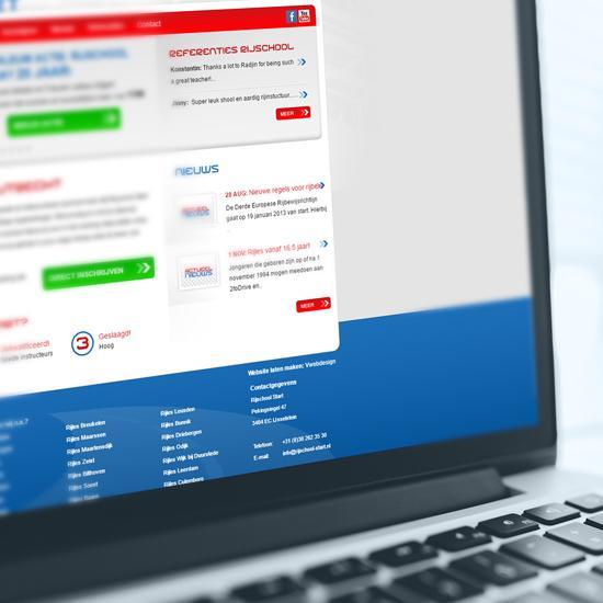 Rijschool website Rijschool-start.nl