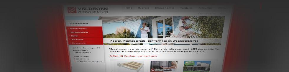 Project: Veldhoenzonweringen.nl