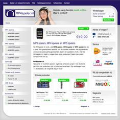 Webshop: MP4speler.nl