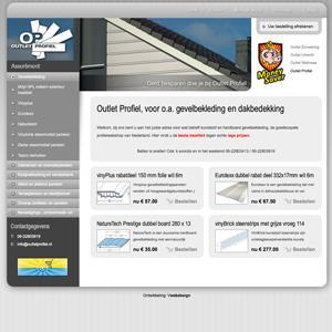 Webshop: outletprofiel.nl