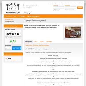 Hoogstebod veiling: Uitetenveiling.nl