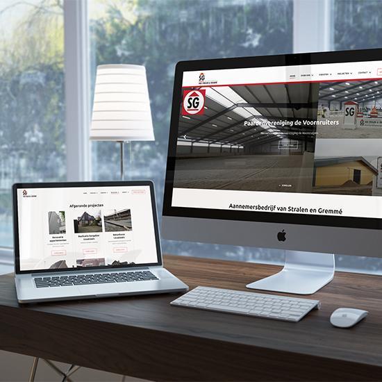 Aannemer website SG