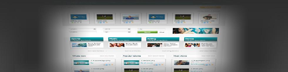 Project: Videosite Talentdump.com