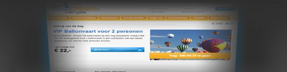 Project: Veilingsite: Noordhollandseveilingsite.nl