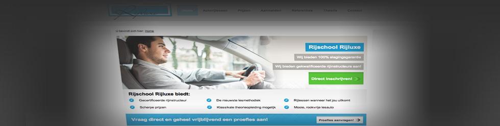 Project: Rijschool website Rijluxe