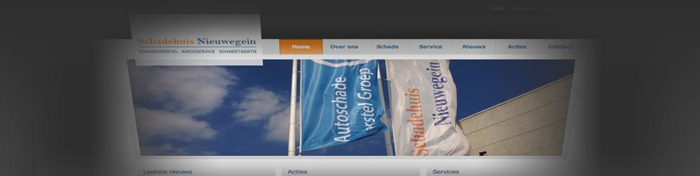 Project: Bedrijfswebsite Schadehuis