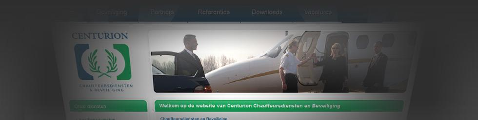 Project: Centurioncd.nl (blauw / groen)