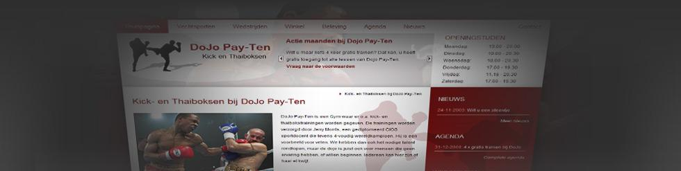 Project: Sportschool website Dojo Pay-Ten