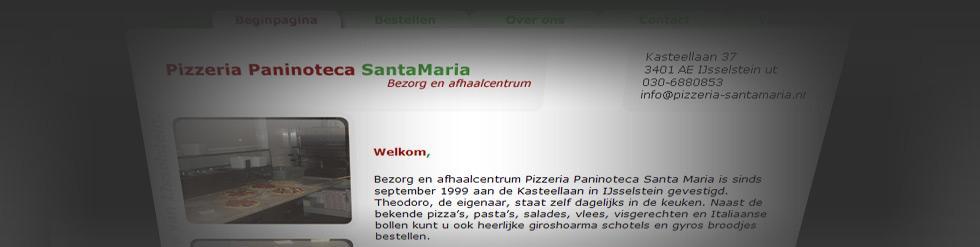 Project: Webwinkel: Pizzeria-santamaria.nl