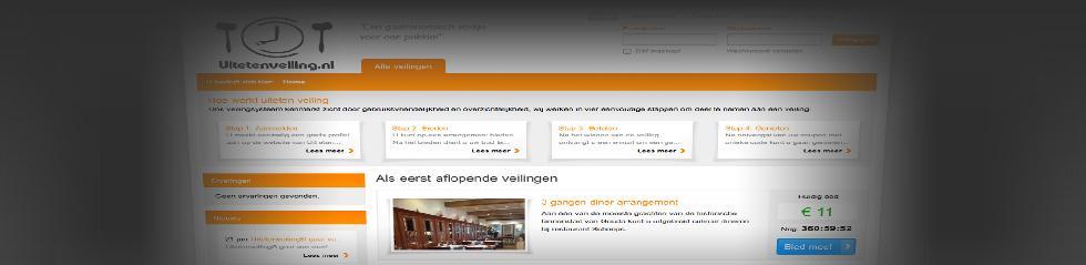 Project: Hoogstebod veiling: Uitetenveiling.nl