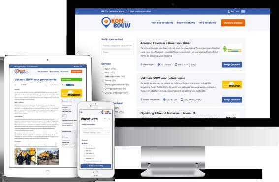 Vacature website laten maken