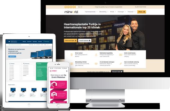 professionele website bouwer
