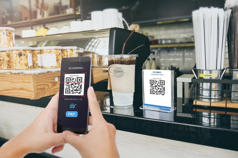Online betalen met QR code in webshop